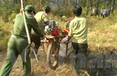 Cải tạo xe đạp thồ thành xe chữa cháy rừng