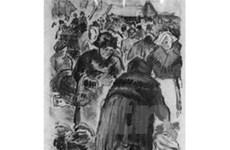 """Bức tranh """"Chợ cá"""" của Pissarro trở về Pháp"""