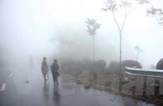 Miền Bắc trời tiếp tục rét, có mưa và sương mù