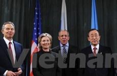 Nhóm Bộ tứ họp bàn về hòa bình Trung Đông