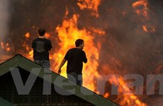 Cháy xưởng may, hơn 20 người Việt thương vong