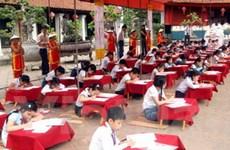 Học sinh tiểu học tranh tài Trạng Nguyên nhỏ tuổi