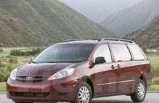 Toyota thu hồi 270.000 xe Sienna 2WD ở Canada