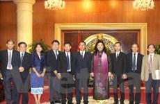 Quốc hội Việt Nam và Lào tăng cường hợp tác