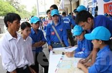 TP.HCM: 17.000 sinh viên tham gia tiếp sức mùa thi