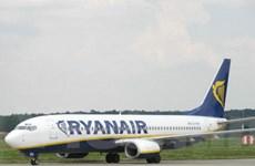 Hãng Ryanair đạt lợi nhuận ròng 372 triệu USD
