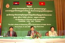 Kiểm toán Việt, Lào và Campuchia tăng hợp tác