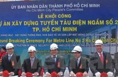 23.700 tỷ đồng xây dự án tàu điện ngầm ở TPHCM