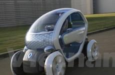 Xe điện siêu nhỏ Twizy hiện diện vào năm 2011