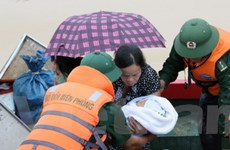 Quốc tế kêu gọi giúp đỡ nạn nhân lũ lụt ở Việt Nam