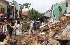 Lũ kép đang tàn phá nặng nề tại tỉnh Quảng Ngãi