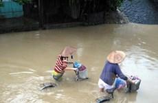 Lũ các sông tại Quảng Nam lên trên báo động 3