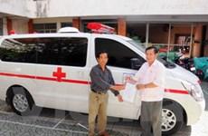 Bàn giao 52 xe cứu thương cho bảy tỉnh phía Bắc