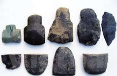 Thấy nhiều di vật của người tiền sử ở Cao Bằng