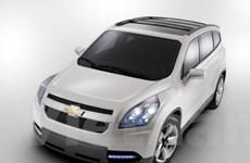 Chevrolet Orlando MPV xâm nhập thị trường Anh