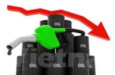 Giá dầu thô New York giao tháng Giêng xuống giá