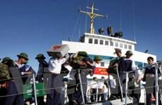 Hoãn 3 chuyến tàu đưa quà Tết ra đảo Trường Sa