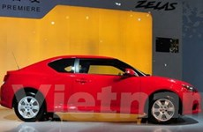 Hãng Toyota giới thiệu mẫu xe Zelas ở Trung Quốc