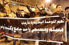 Xe tăng đang bao vây một quảng trường ở Cairo