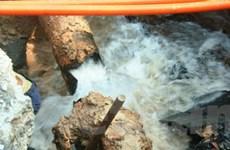 Vỡ đường ống, cả thành phố Biên Hòa mất nước