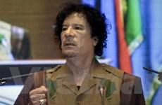 Mỹ áp đặt biện pháp trừng phạt Tổng thống Libya