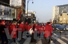 Bỉ: Kinh doanh bị đình trệ do các cuộc biểu tình