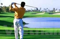 124 vận động viên dự Giải Golf hữu nghị Việt-Lào