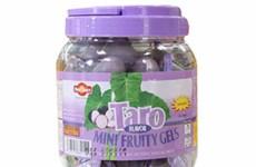 Đã thu hồi xong thạch rau câu vị khoai môn Taro