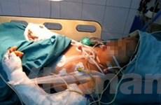 Tay bé Trịnh Thị Bích đã hồi phục được tới 70-80%
