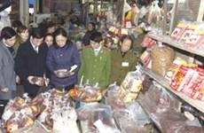 Thành lập 8 đoàn thanh tra thực phẩm trong dịp Tết