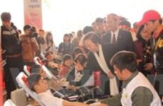 1 vạn người tham gia hiến máu ở Lễ hội Xuân hồng