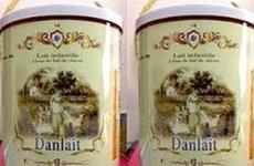 Sữa dê Danlait đúng tiêu chuẩn đăng ký nhãn mác