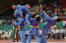 Đoàn Vovinam Việt Nam thi đấu giao hữu tại Pháp