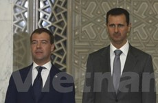 Nga góp sáng kiến tiến trình hòa bình Trung Đông