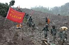 Trung Quốc: Lở đất kinh hoàng vùi lấp 38 gia đình