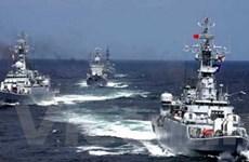 Trung Quốc diễn tập quân sự trên biển Hoàng Hải
