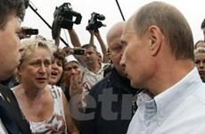 Thủ tướng Nga tham gia dập cháy rừng ở Riadan