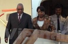 Tổng thống Nam Phi chính thức công du Trung Quốc