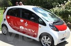 Mitsubishi i-MiEV nhận giải Xe điện đô thị tốt nhất