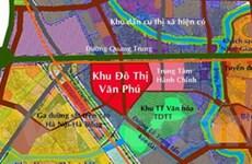 Chi 119 tỷ đồng xây đường giáp khu đô thị Văn Phú