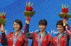 Việt Nam đoạt huy chương bạc bắn súng ASIAD