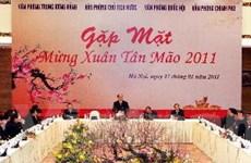 Bốn Văn phòng gặp mặt mừng xuân Tân Mão 2011