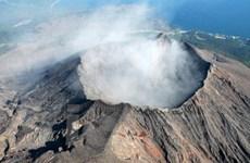 Bình yên bên núi lửa đang hoạt động Sakurajima