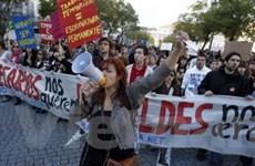 Bồ Đào Nha biểu tình lớn phản đối cắt giảm chi tiêu