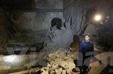 Máy bay NATO lại oanh kích dữ dội thủ đô Tripoli