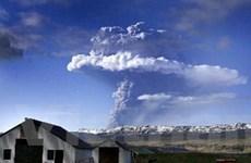 Núi lửa Grimsvoetn ở Iceland ngừng phun tro bụi