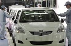 Sản lượng của Toyota giảm mạnh nửa đầu 2011