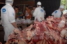 Paraguay ngừng xuất thịt bò do lở mồm long móng