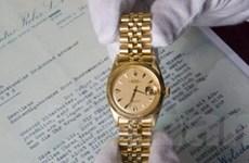 Đồng hồ Rolex được bán với giá hơn 200.000 USD
