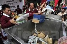 Indonesia tiêu hủy lượng ma túy trị giá 105.000 USD